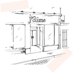 dessin de la boutique