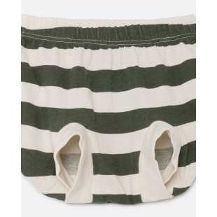 THE ANIMAL OBSERVATORY - BLOOMER CULOTTE WHITE STRIPES 2