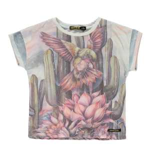 FINGER IN THE NOSE - TEE SHIRT MULTICO HUMMINGBIRD