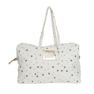 APRIL SHOWERS BY POLDER - SAC WEEK-END SMALL STAR GREY