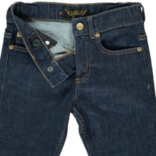FINGER IN THE NOSE - JEAN NEW NORTON RAW DENIM BLUE