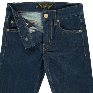 FINGER IN THE NOSE - JEAN ICON RAW DENIM BLUE - PERMANENT