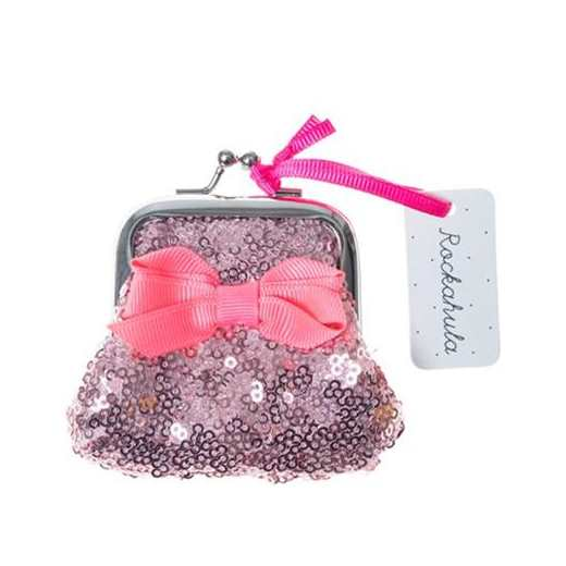 PURSE SEQUIN PINK