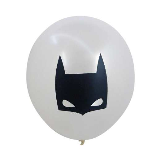 6 BALLONS BATMAN