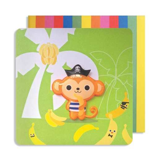 CARTE JELLY MONKEY