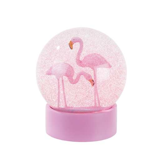 boule de neige flamand rose talking table d co des. Black Bedroom Furniture Sets. Home Design Ideas