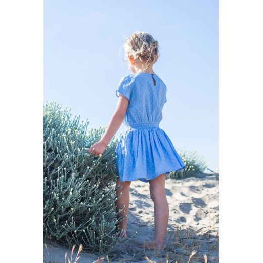 ROBE CHAMBRAY JACQUARD