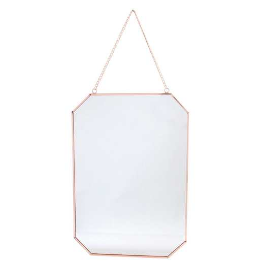 MIROIR RECTANGLE CUIVRÉ