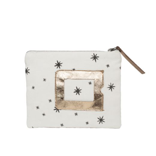 TROUSSE ZIP N°3 STAR GREY