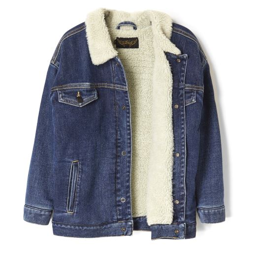 MANTEAU ROAD BLUE DENIM