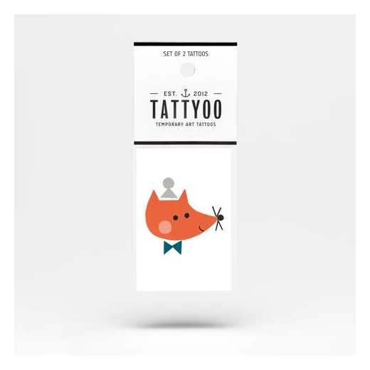 TATOO VINCENT THE FOX