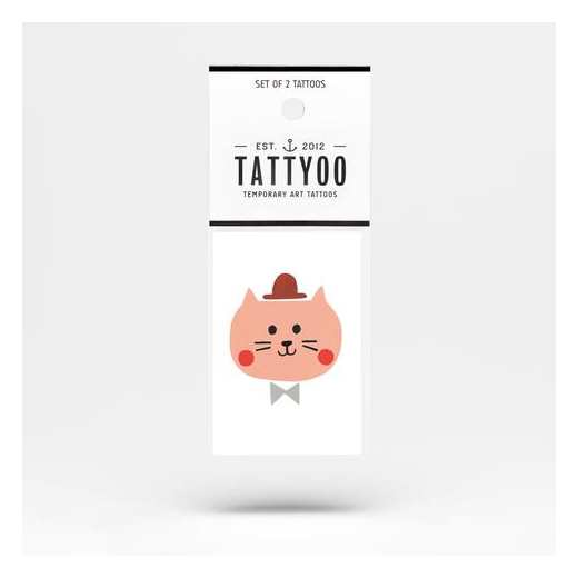 TATOO CHARLIE THE CAT