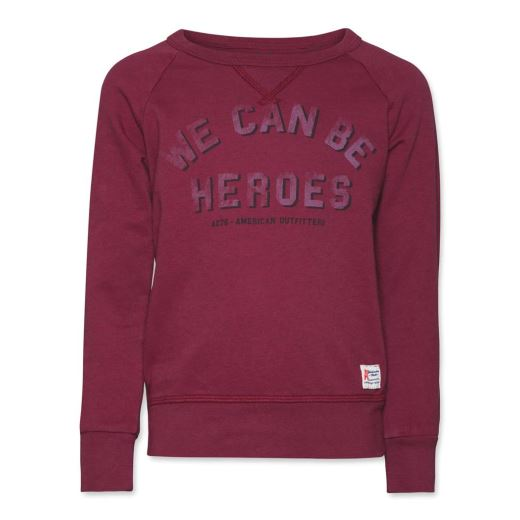 SWEAT WE CAN BE HEROES