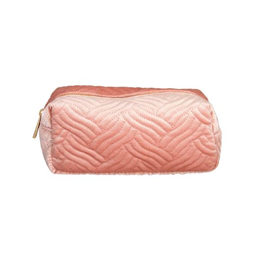 TROUSSE MAQUILLAGE VELOURS ROSE