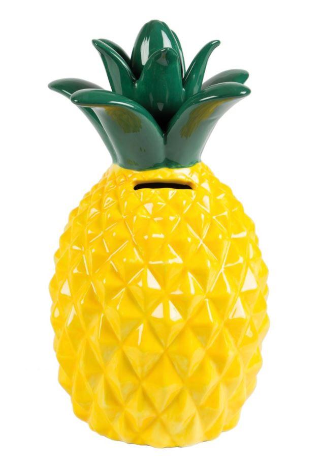 Tirelire ananas j 39 aime les objets tirelires j 39 aime for Objet deco ananas